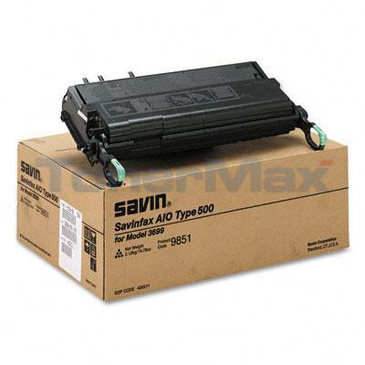 SAVIN 3699 TYPE 500 TONER CARTRIDGE BLACK